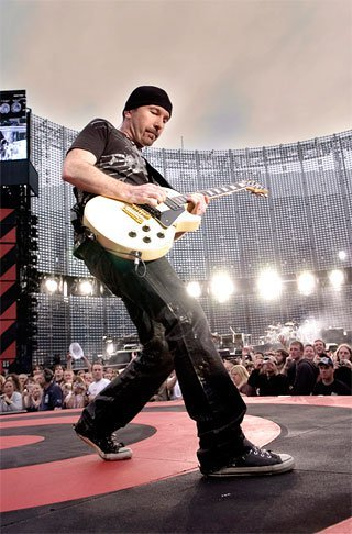 """The Edge"": la guitarra de U2"