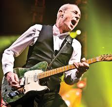 """Francis Rossi, la guitarra de Status Quo, una banda """"transversal"""""""