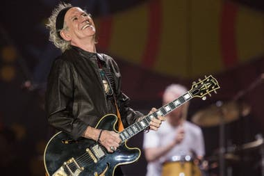Keith Richards, una guitarra rítmica de impresión.